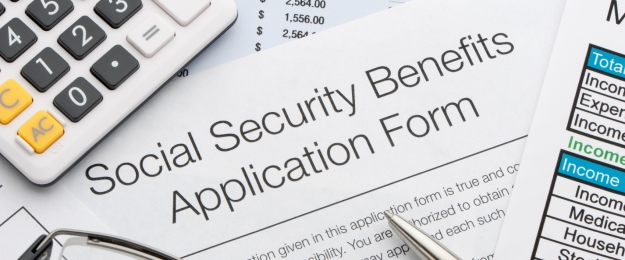 a social security application form