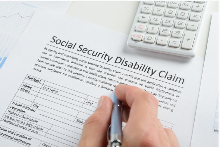 Filing a social security disability claim