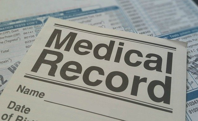 Medical record document