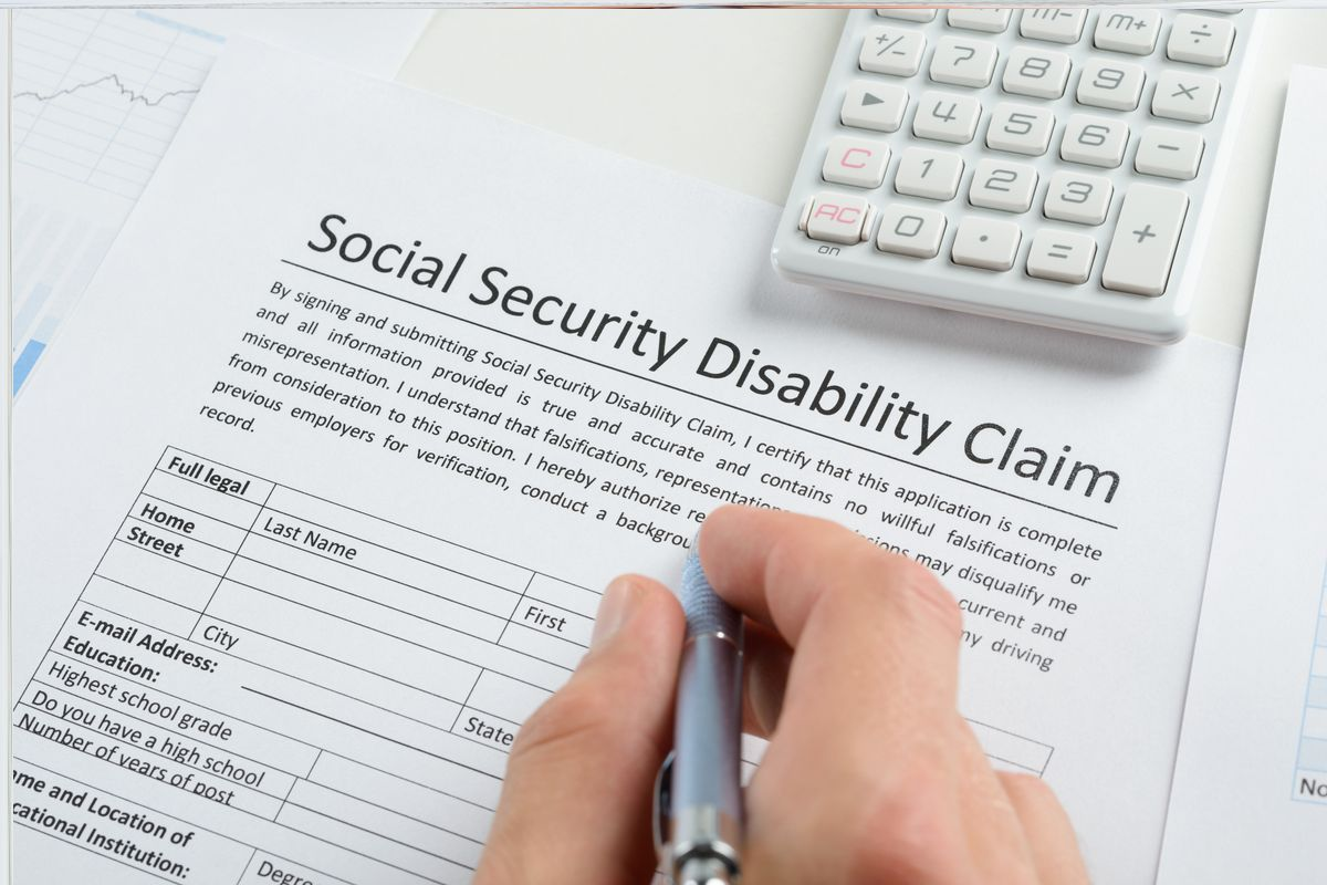 Filling out a social security disability claim